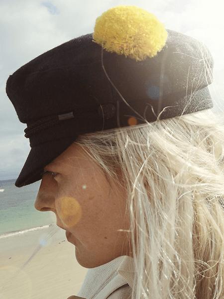 pompon marin jaune aimanté